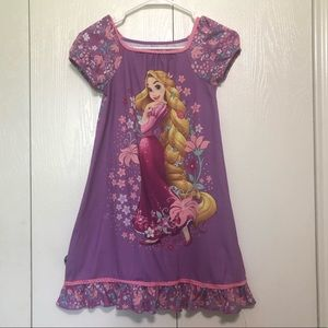 Disney Store Rapunzel Pajama Dress sz 8 Nightgown